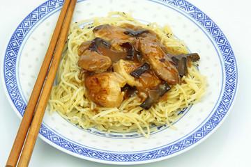 poulet aux champignons noirs 20022016