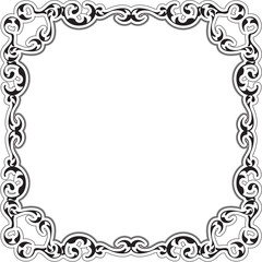 Art ornate renaissance frame