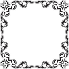 Baroque decor nice frame
