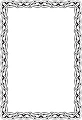 Decor renaissance frame