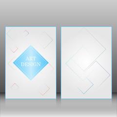 Brochure design. Template for business, brochure, book, advertise and else. Art design