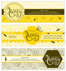 Honey banners.