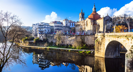 beautiful places in Portugal - Amarante Fototapete