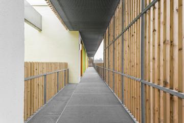Holz Verkleidung Gang Flur