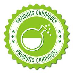 Logo produits chimiques.