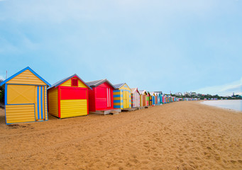 Brighton beach boxes, Melbourne, Australia