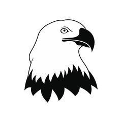 Bald eagle icon