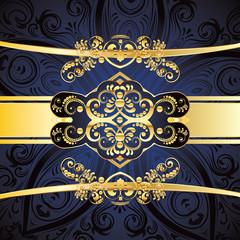 Blue Decorative Background