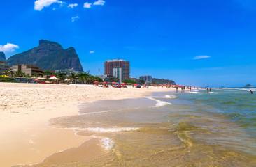 Barra da Tijuca beach, Rio de Janeiro. Brazil