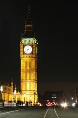 Wall Mural - London Night view, include Big Ben