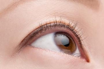 Macro Female Eye