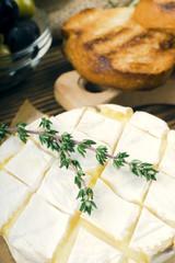 baked camembert.