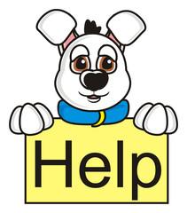 mug, face, head, mask, muzzle, animal, dog, muzzle, paws, isolated, cartoon, toy, sign, letters, puppy, help, sad, tears