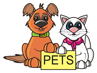 plate, rally, demanded, poster, banner, keep, isolated, toy, cartoon, animal, pet, dog, puppy, 