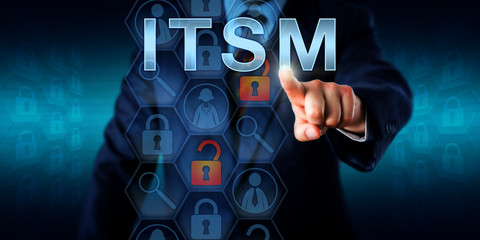 Business Customer Pressing ITSM