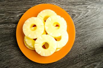Rings of pineapple