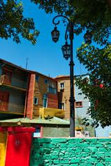 Buenos Aires, La Boca, colorful neighborhood