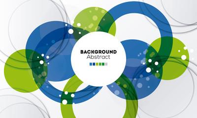 Circulo abstracto fondo