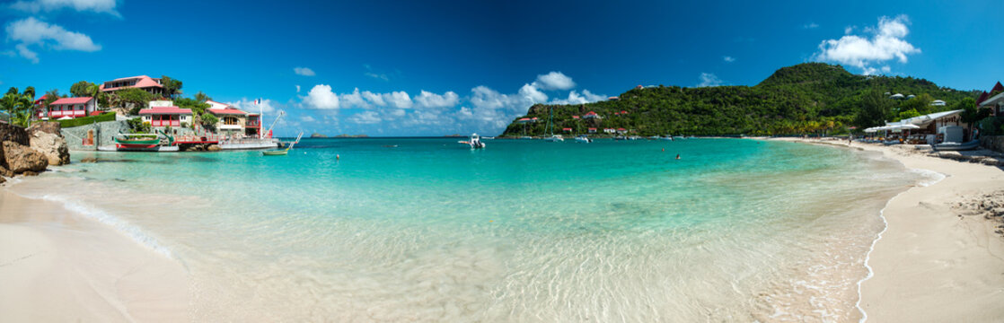 Saint Barth island, Caribbean sea