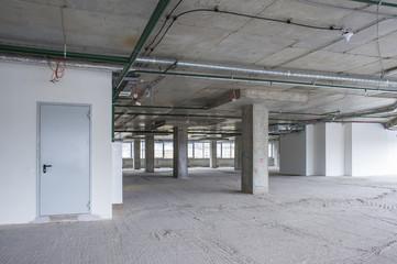 interior of business center under construction