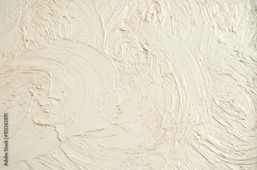 Decorative Plaster, Wall Texture. Background Of Decorative Plaster