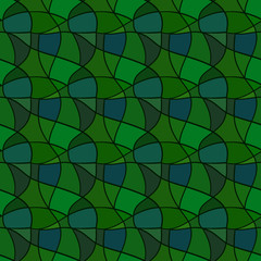 Seamless pattern. Mesh repeating texture, mosaic background