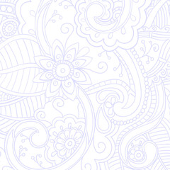 Background with doodle pattern