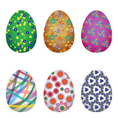 Easter colorfull eggs
