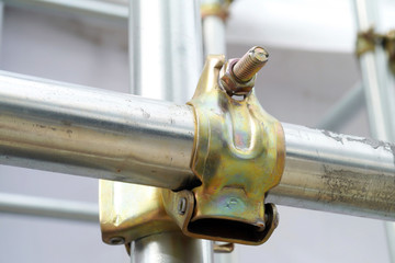 Scaffolding pipe clamp  .