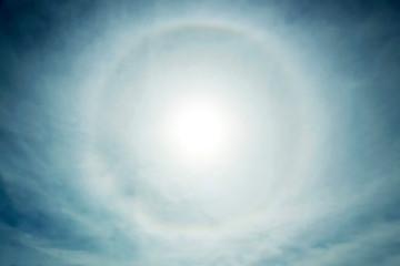 Halo, atmospheric phenomenon in the sky