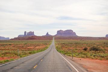 Entrance to Monument Valley Navajo Tribal Park , Arizona, USA