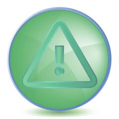 Icon Alert color of malachite