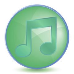Icon Music color of malachite
