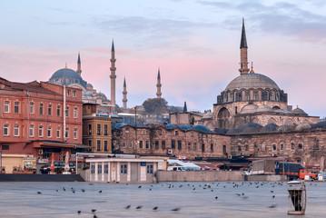 Turkey. Istanbul. Rustam Pasha Mosque.