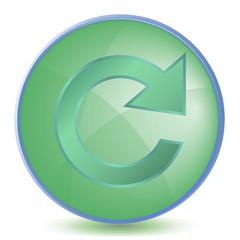 Icon Reload color of malachite