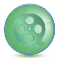 Icon Video color of malachite