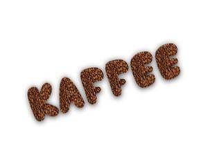 Kaffee 3d wort