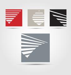 Originally created business icon set