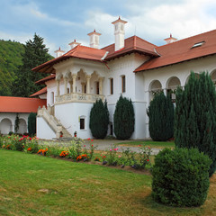 Sambata greek orthodox monastery in Transylvania Romania