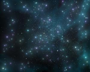 The stars in the galaxy, a stellar nebula