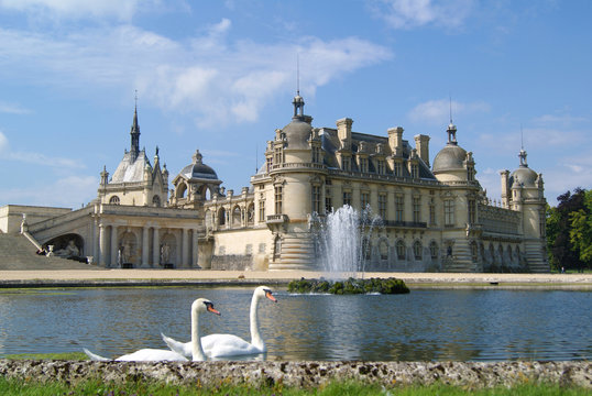 Castle of Chantilly, France