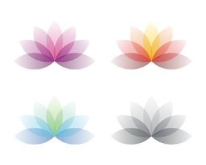 Colorful Lotus Flower Spa Logo 2
