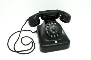 schwarze Telefon-Chatlinien