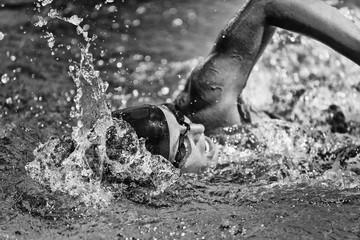 Swim action shot