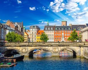 Tuinposter Scandinavië Copenhagen, Denmark