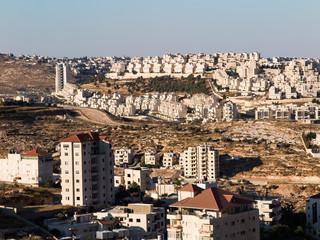 View of Har Homa (Homat Shmuel) from Bethlehem 2015