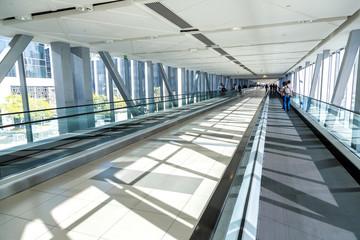 Automatic stairs in Dubai metro