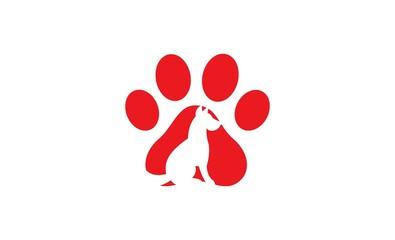 dog pet logo