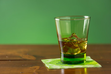 Glass of Whiskey for St Patrick's Day