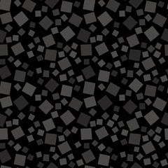 Random geometric background. Seamless pattern.Vector. ランダム四角パターン